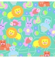 Toys pattern seamless vector