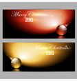 Christmas banner design vector