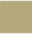 Abstract seamless retro zigzag ornament vector