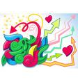 Fun graffiti vector
