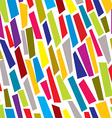 Colorful paper cuts seamless pattern vector