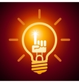 Bright idea vector