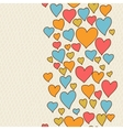 Valentines day lovely seamless texture with cute vector