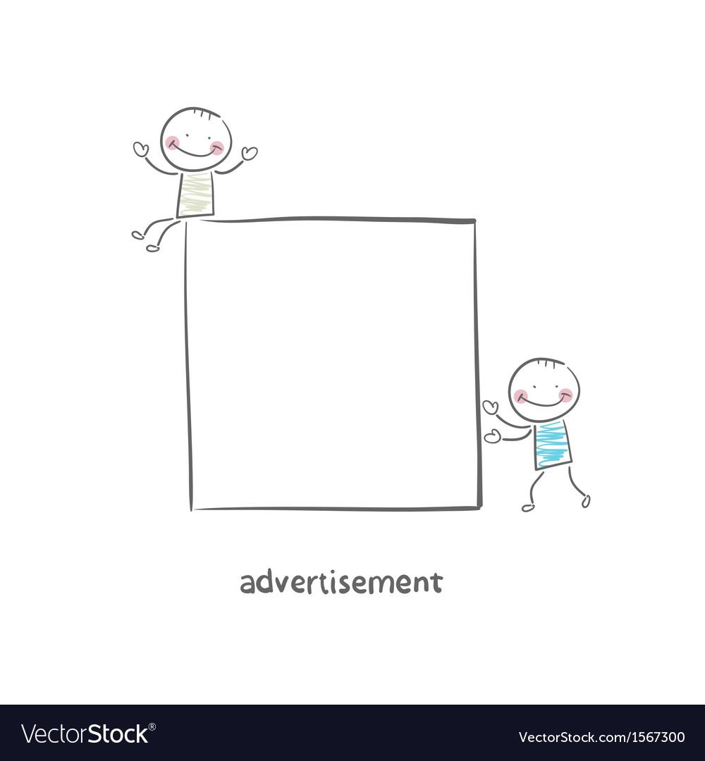 Advertisement vector | Price: 1 Credit (USD $1)