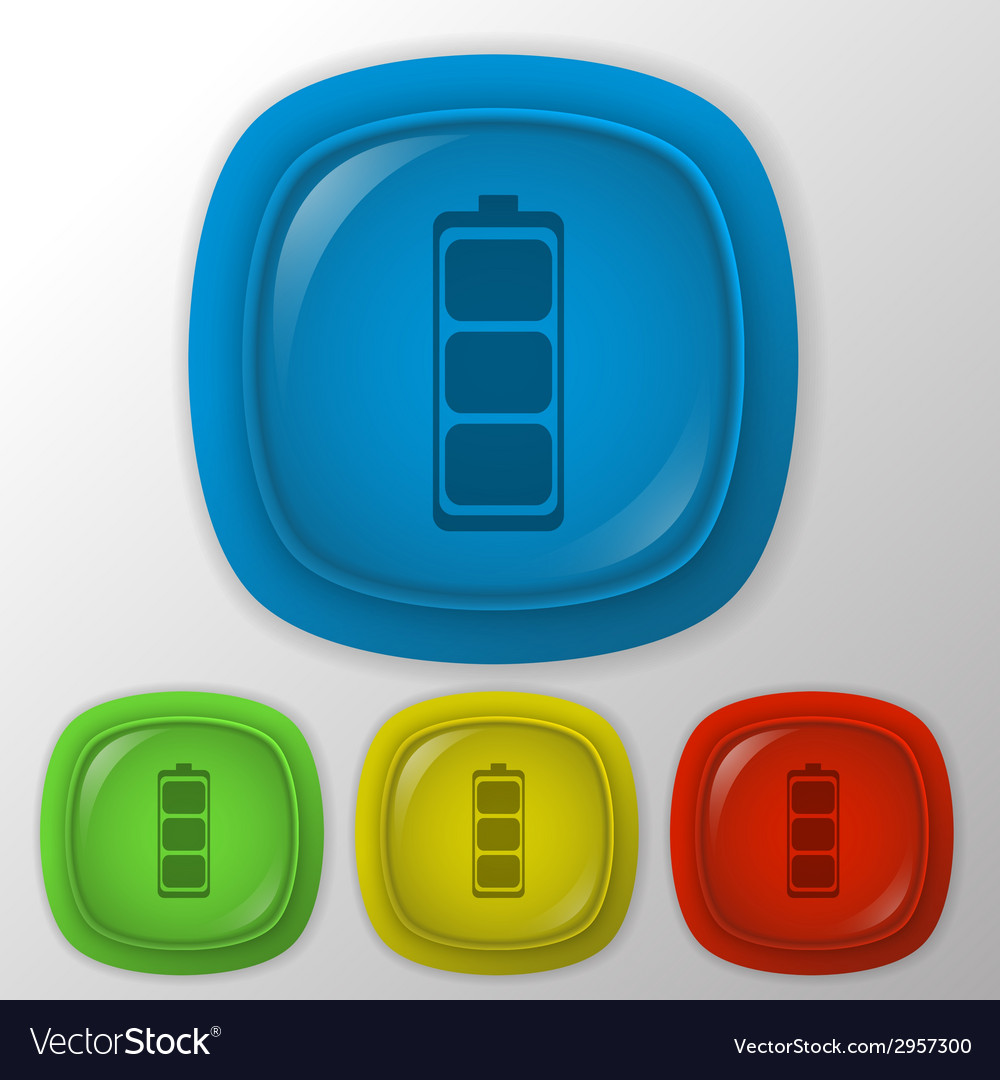 Charged battery vector | Price: 1 Credit (USD $1)