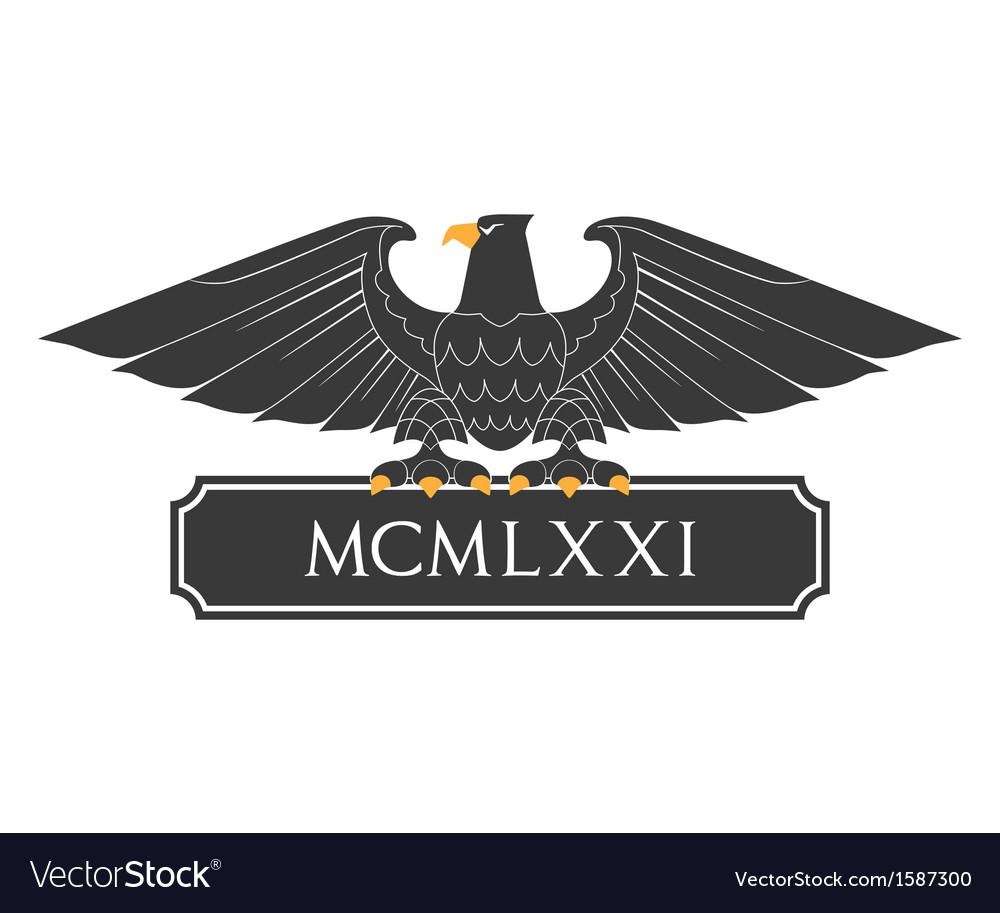 Heraldic eagle 21 vector | Price: 1 Credit (USD $1)