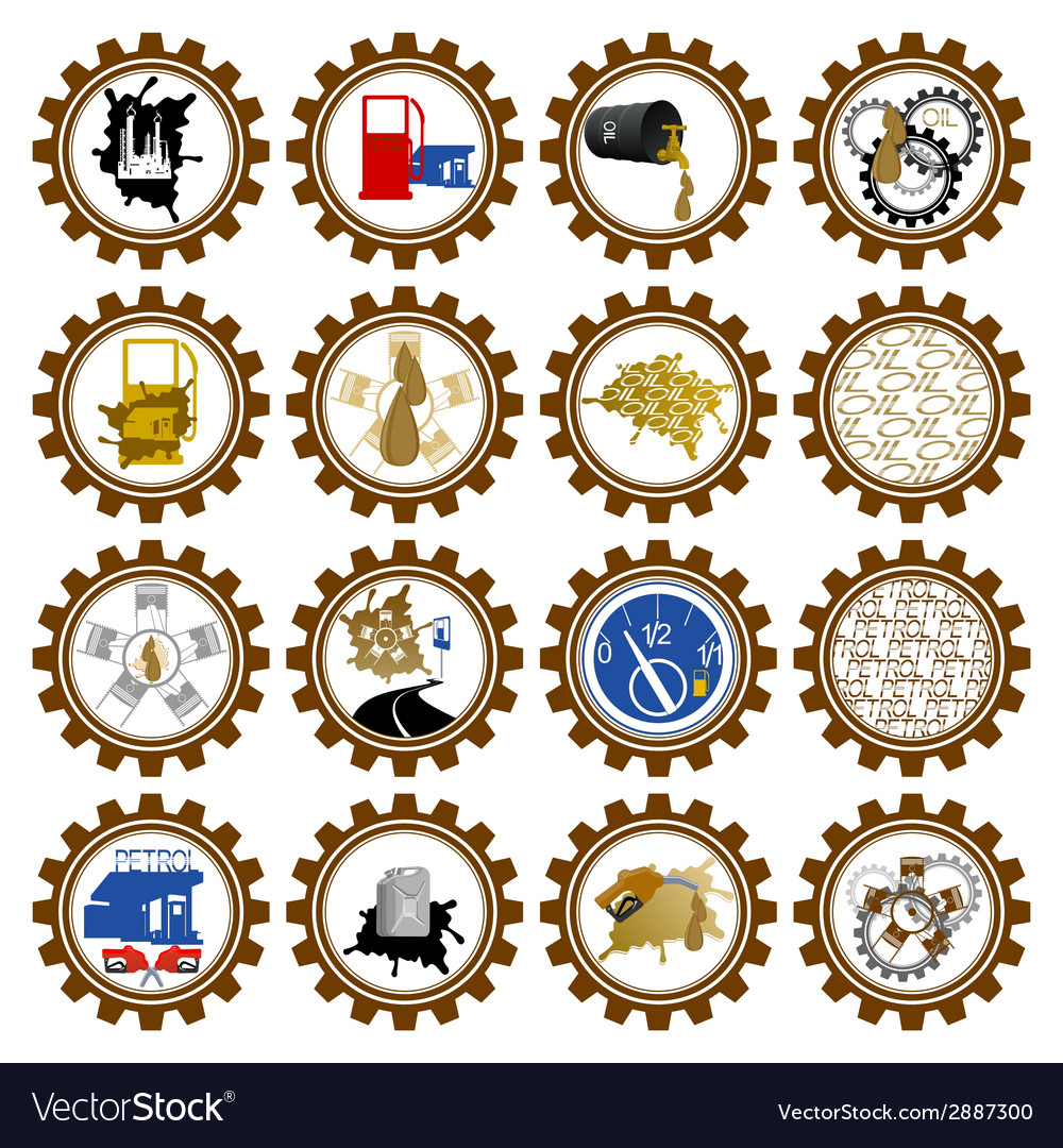 Petroleum industry vector | Price: 1 Credit (USD $1)