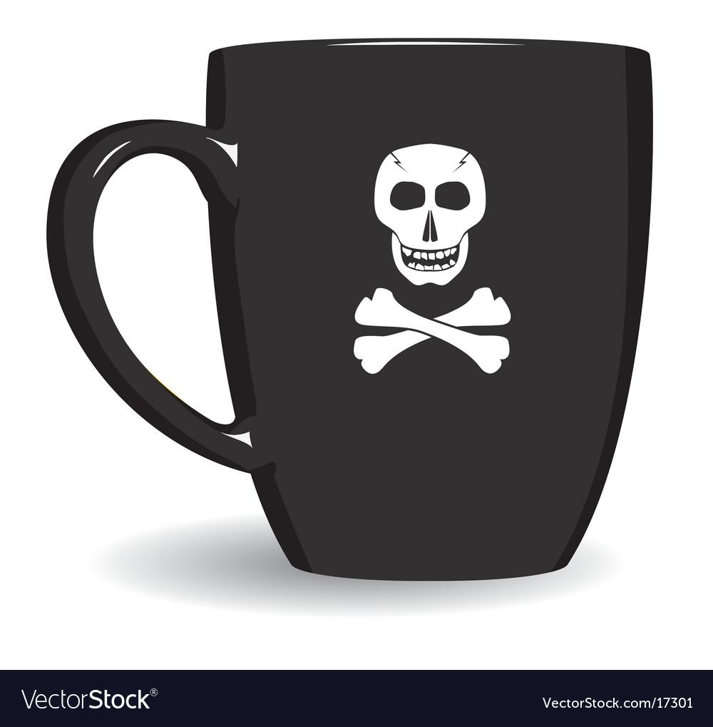 Pirate mug vector | Price: 1 Credit (USD $1)