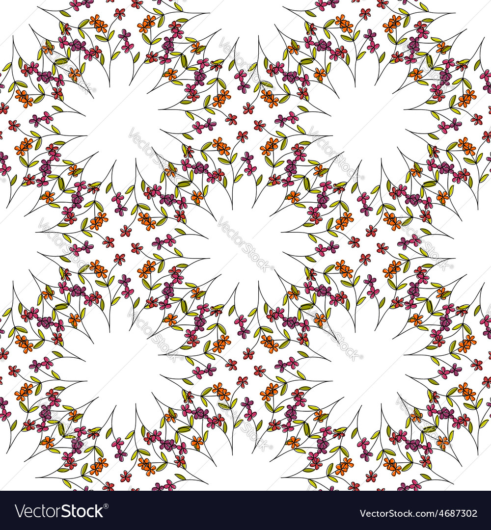 Beautiful orient style seamless pattern vector | Price: 1 Credit (USD $1)