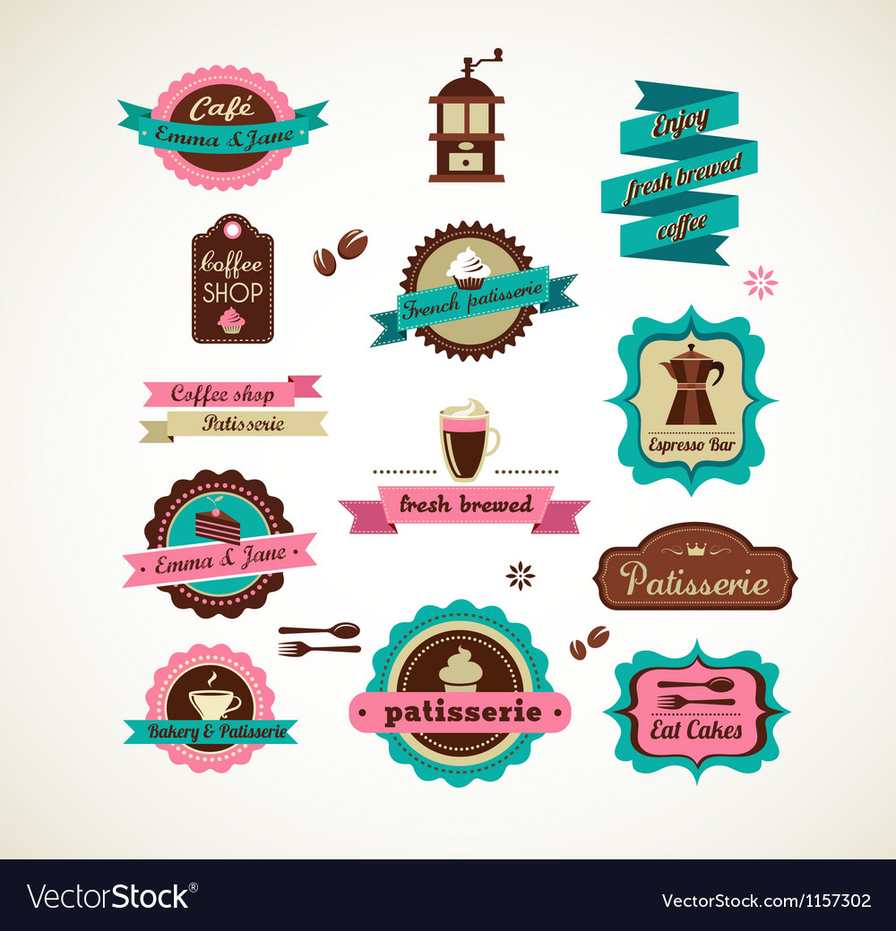Espresso bar vinatge poster with makineta vector | Price: 1 Credit (USD $1)