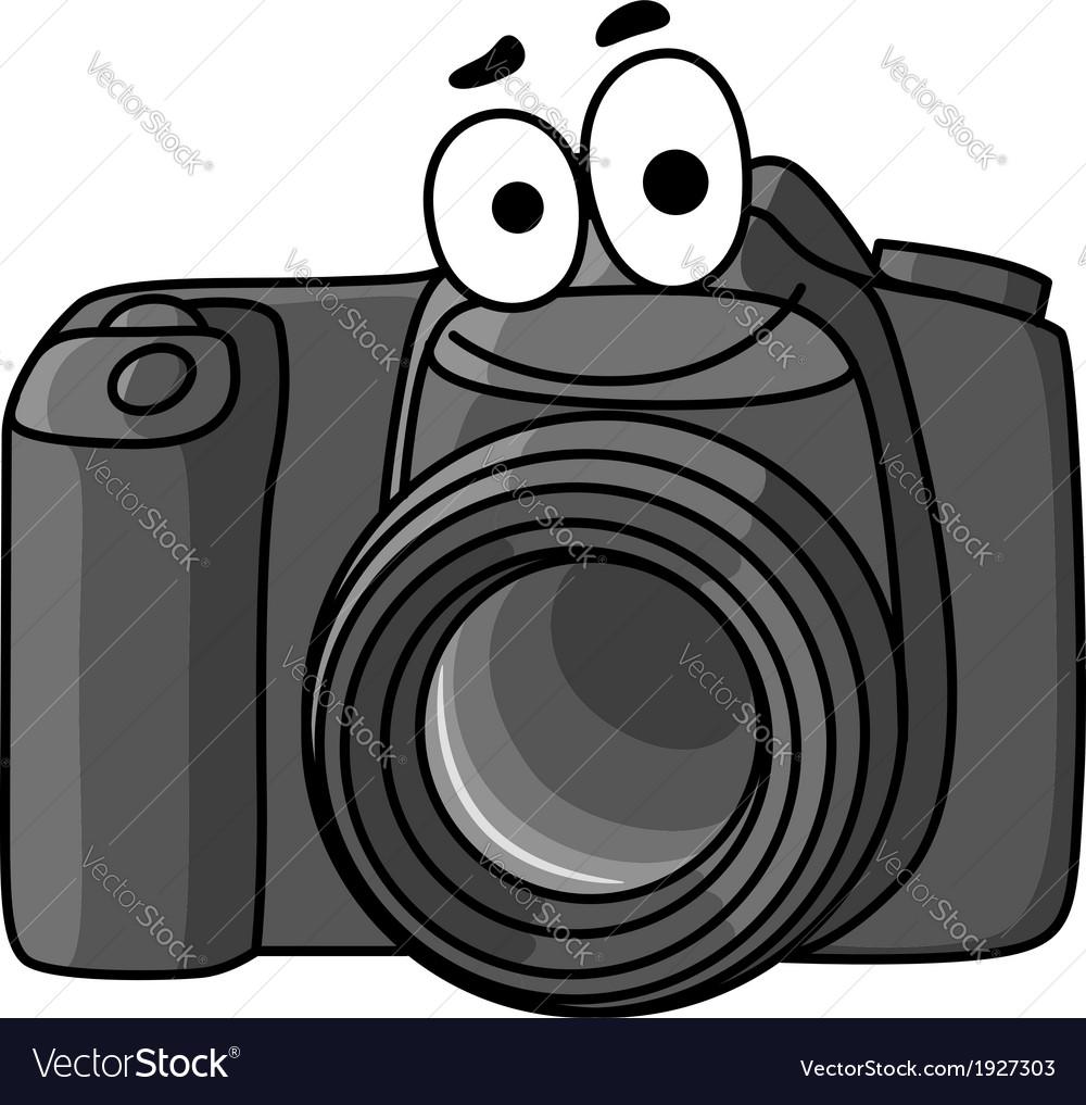 Cartoon digital camera vector | Price: 1 Credit (USD $1)