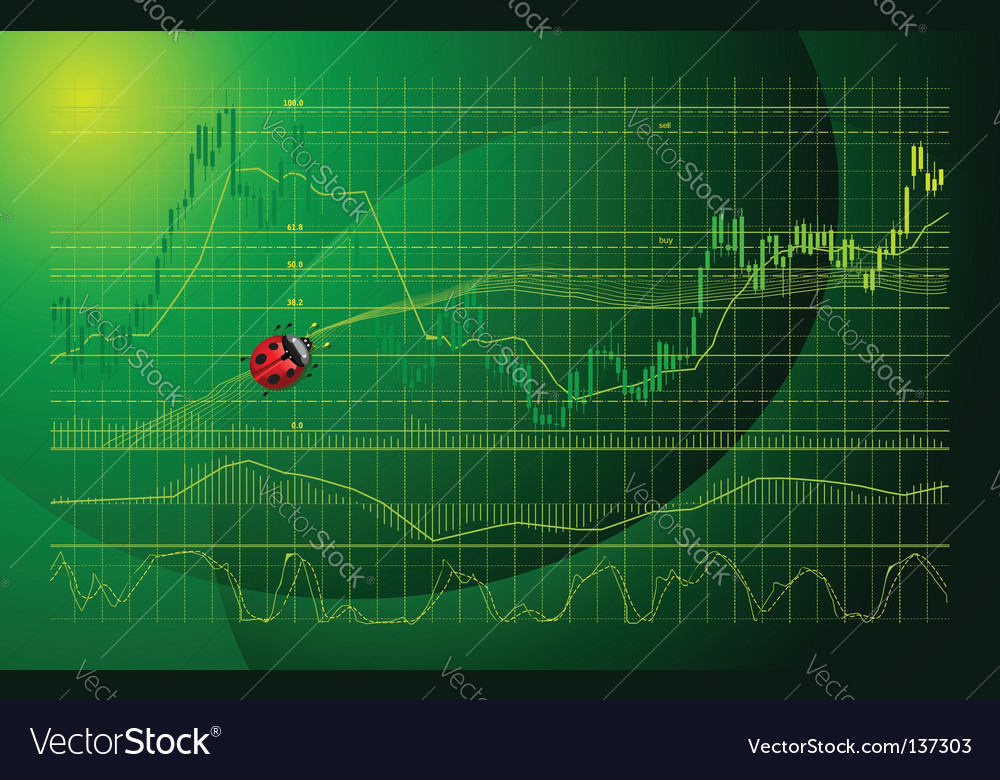 Forex chart vector | Price: 1 Credit (USD $1)