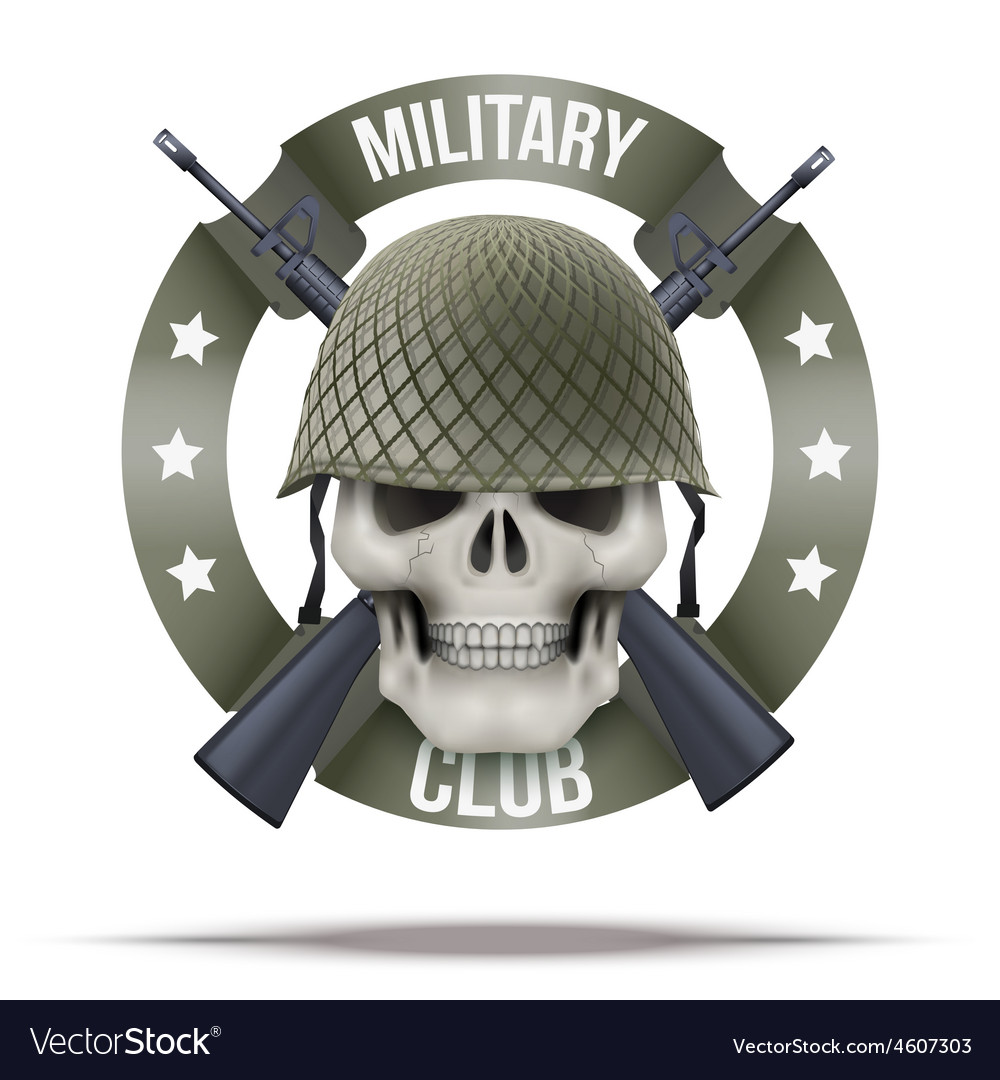 Military club or company badges and labels logo vector | Price: 1 Credit (USD $1)