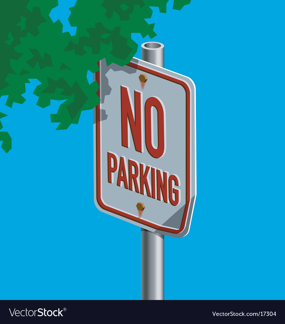 Roadsign-noparking vector | Price: 1 Credit (USD $1)