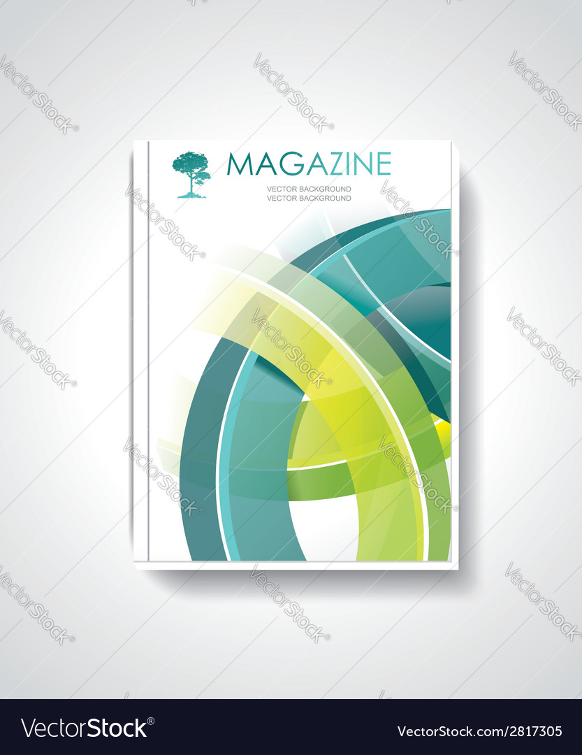 Magazine or brochure template design vector | Price: 1 Credit (USD $1)