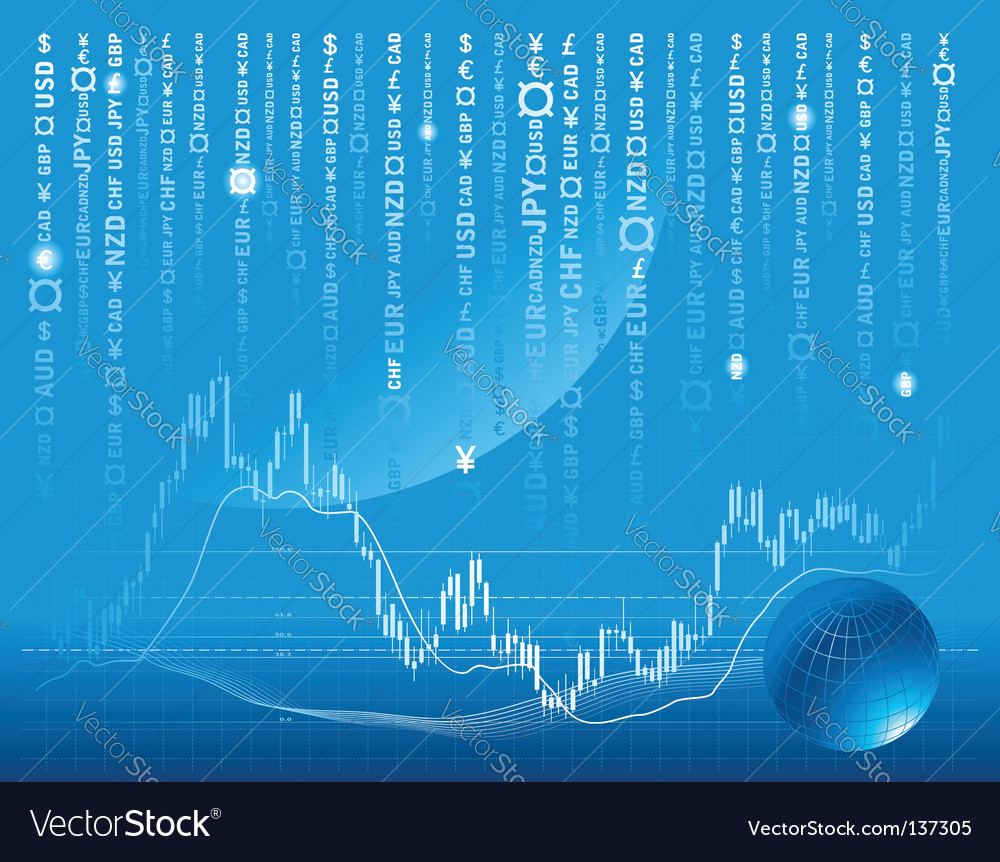 Stock exchange background vector | Price: 1 Credit (USD $1)