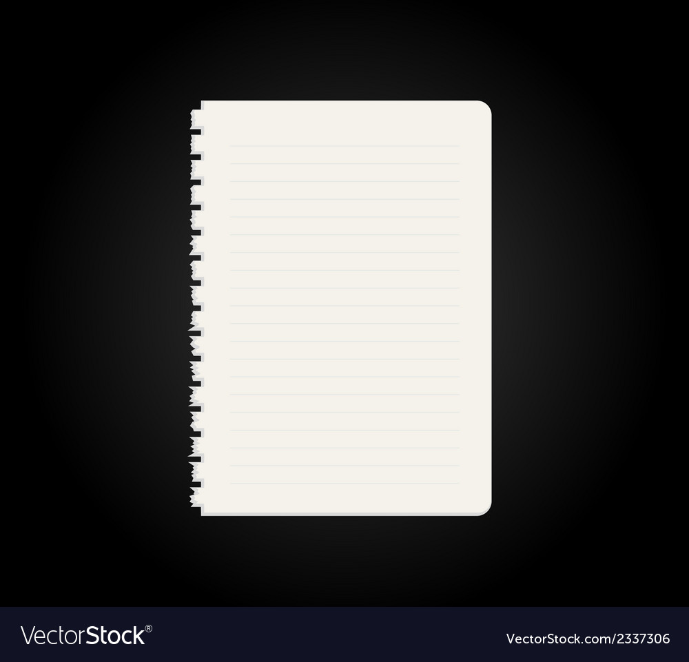 Blank paper vector | Price: 1 Credit (USD $1)