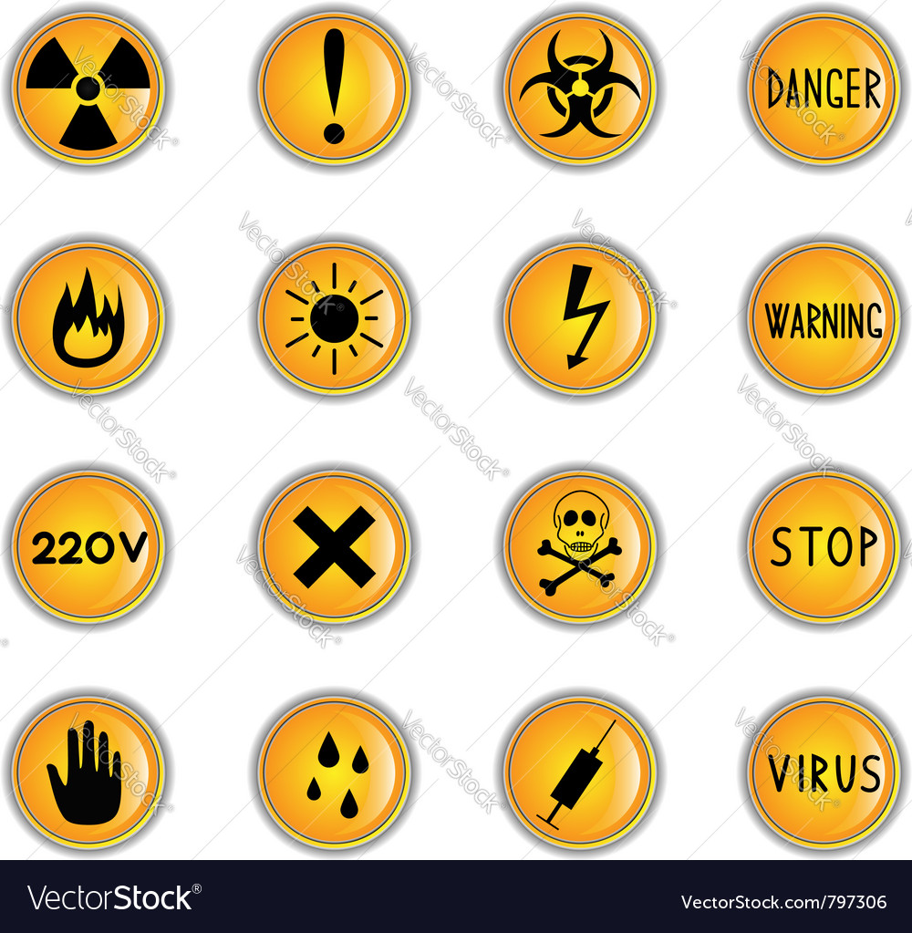 Danger theme icons vector   Price: 1 Credit (USD $1)
