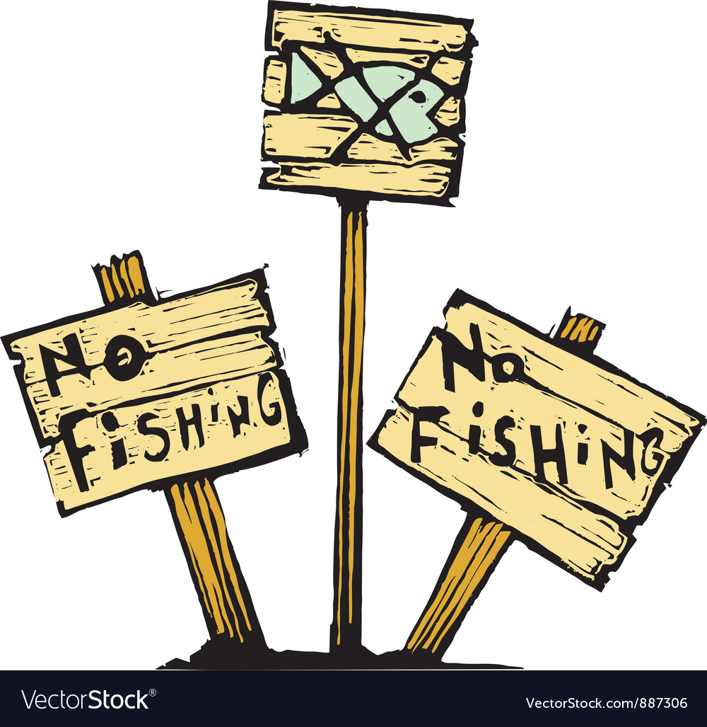 No fishing vector | Price: 1 Credit (USD $1)