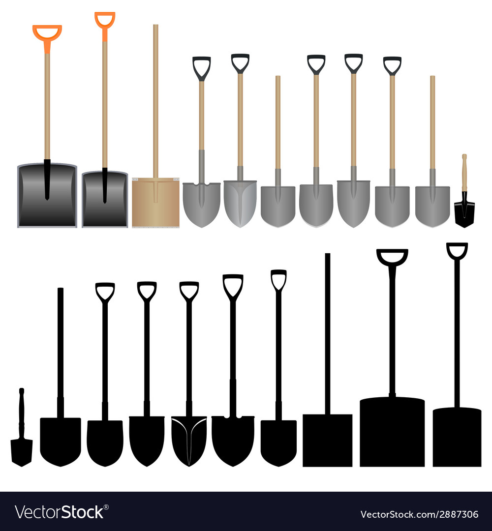 Shovel vector | Price: 1 Credit (USD $1)