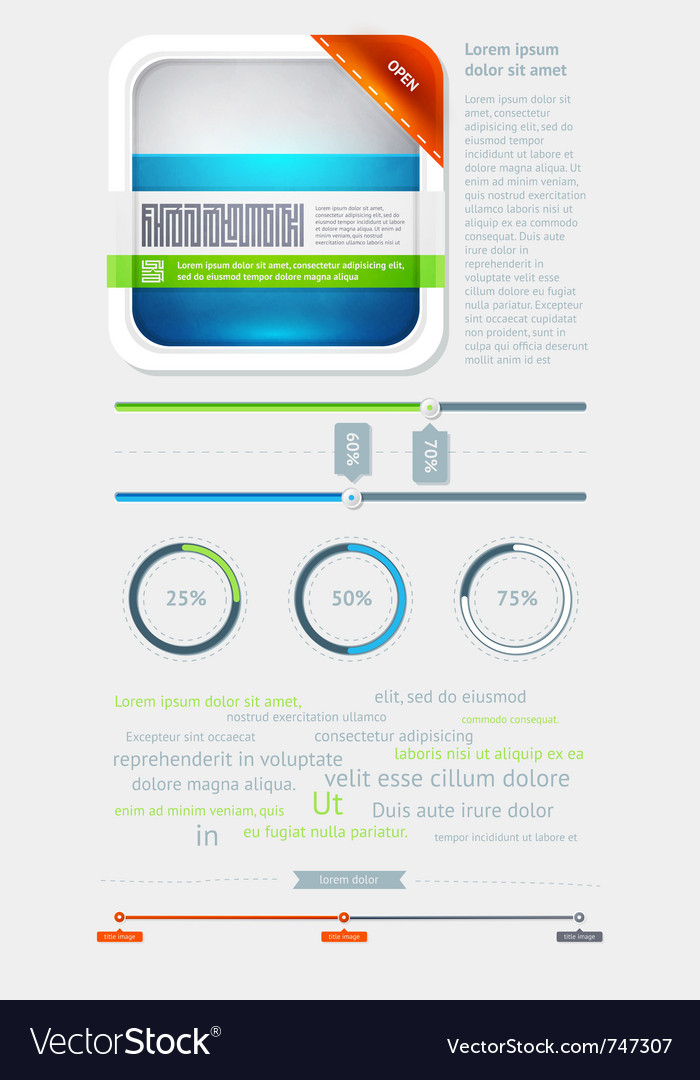 Elements of infographics vector | Price: 3 Credit (USD $3)