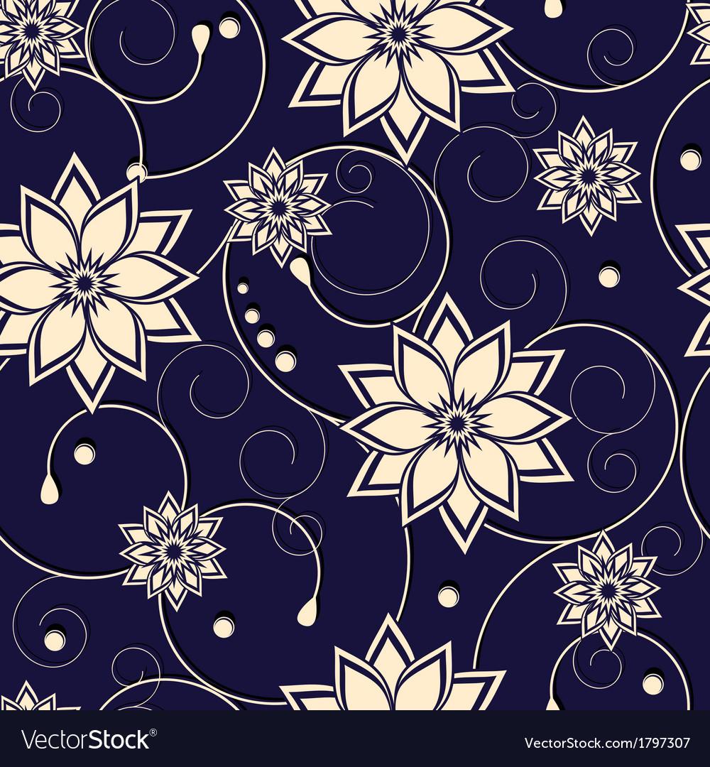 Flower pattern vector   Price: 1 Credit (USD $1)