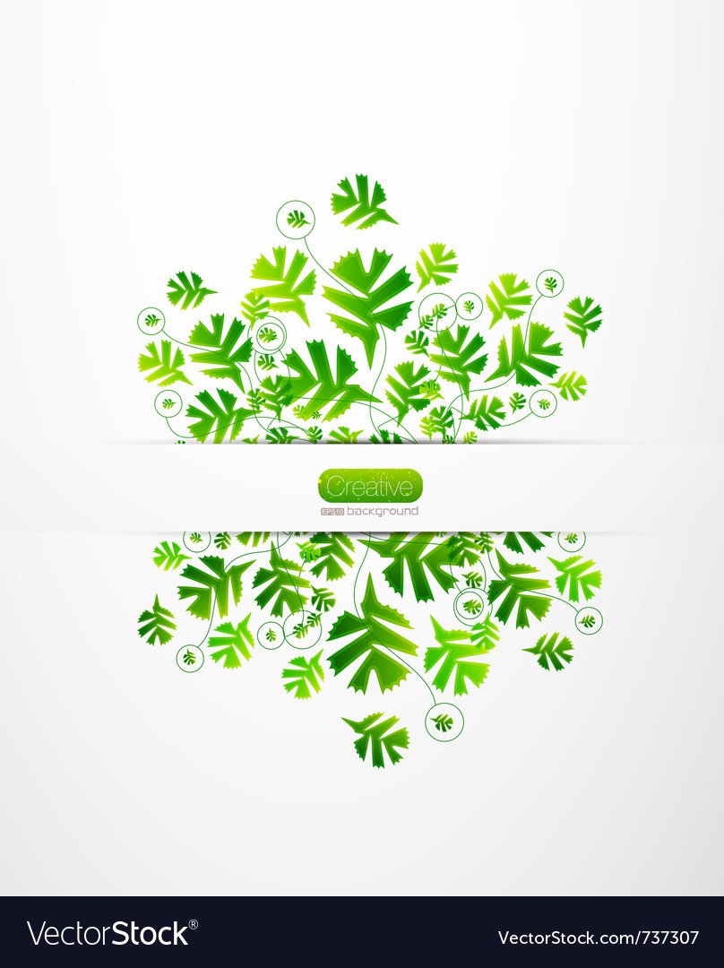 Nature leaves background vector   Price: 1 Credit (USD $1)