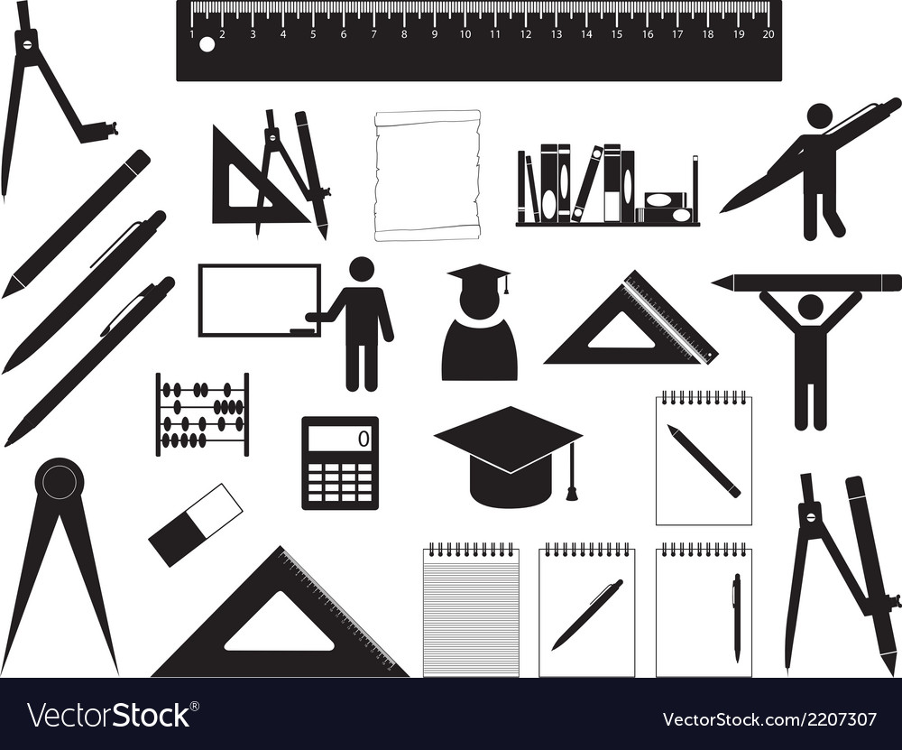 School and education vector | Price: 1 Credit (USD $1)