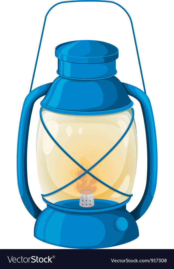 Camping lamp vector | Price: 3 Credit (USD $3)