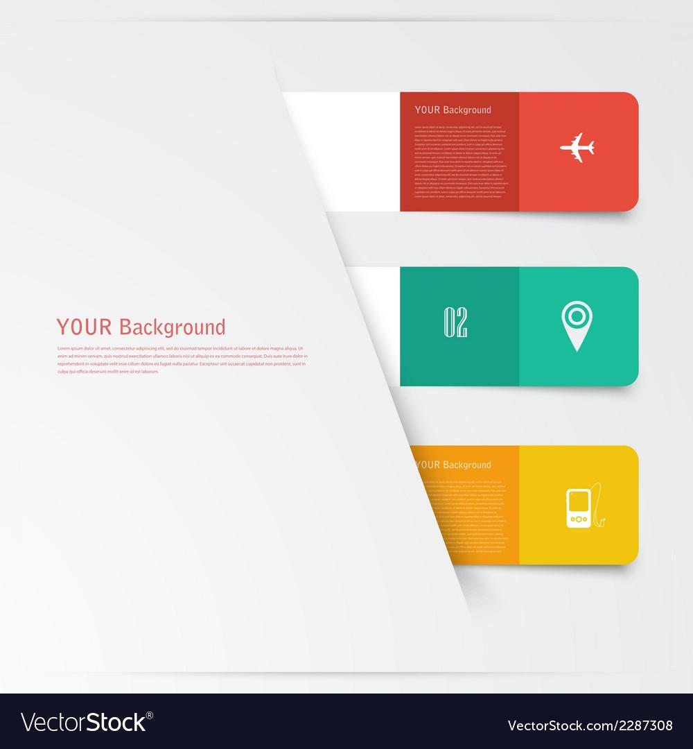 Flat design concept design vector | Price: 1 Credit (USD $1)