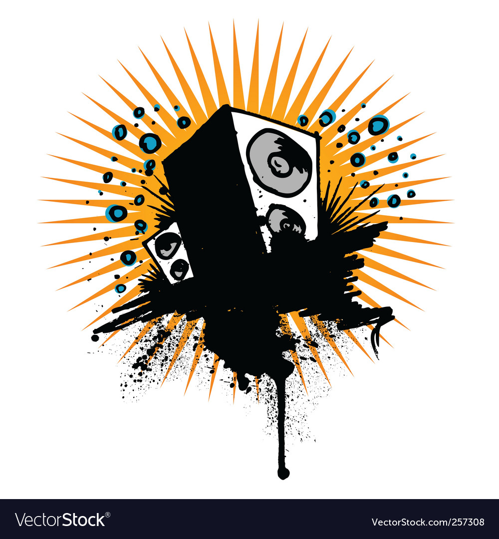 Sound background vector | Price: 1 Credit (USD $1)