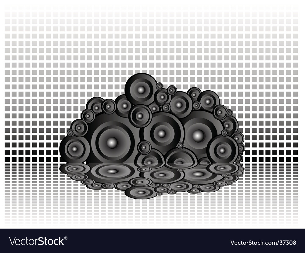 Wall of music vector | Price: 1 Credit (USD $1)