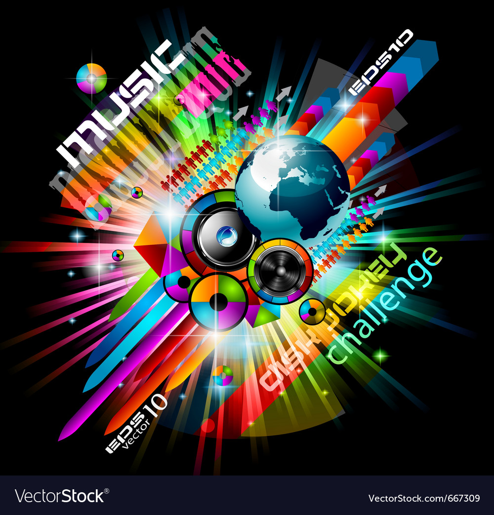 Alternative discoteque vector | Price: 3 Credit (USD $3)