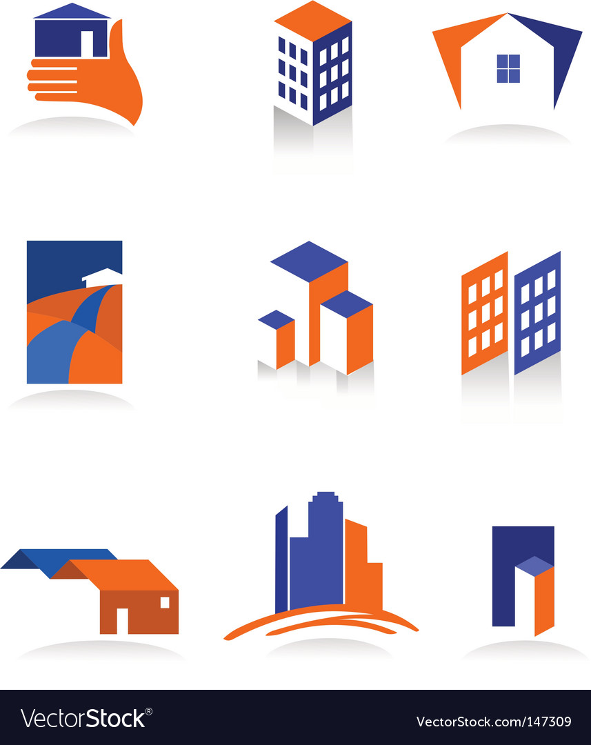 City real estate logo vector | Price: 1 Credit (USD $1)
