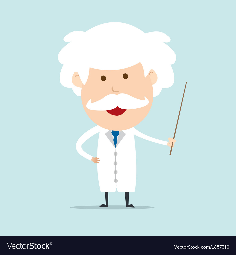 Professor and scientist vector | Price: 1 Credit (USD $1)