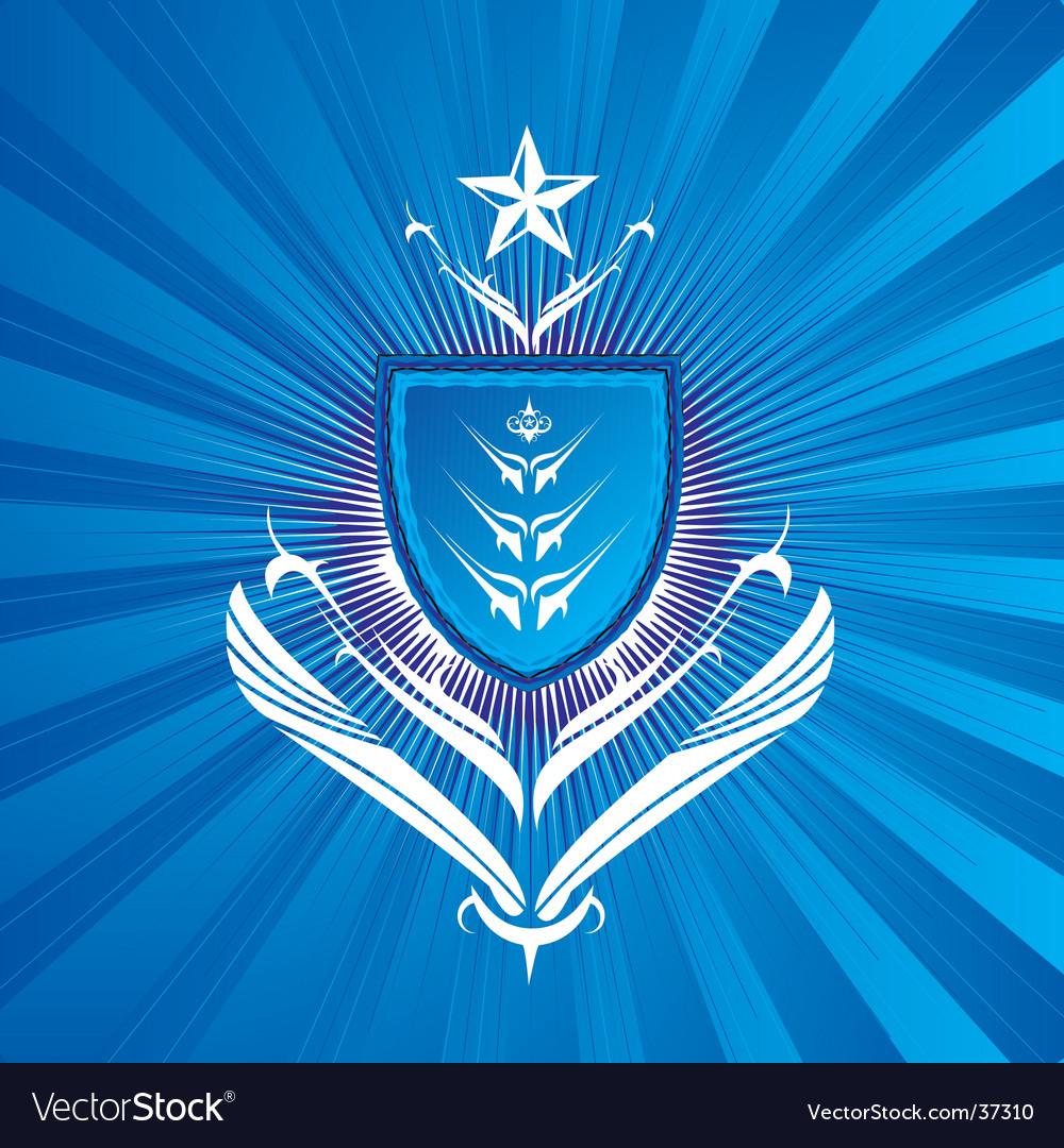 Regal shield vector | Price: 1 Credit (USD $1)