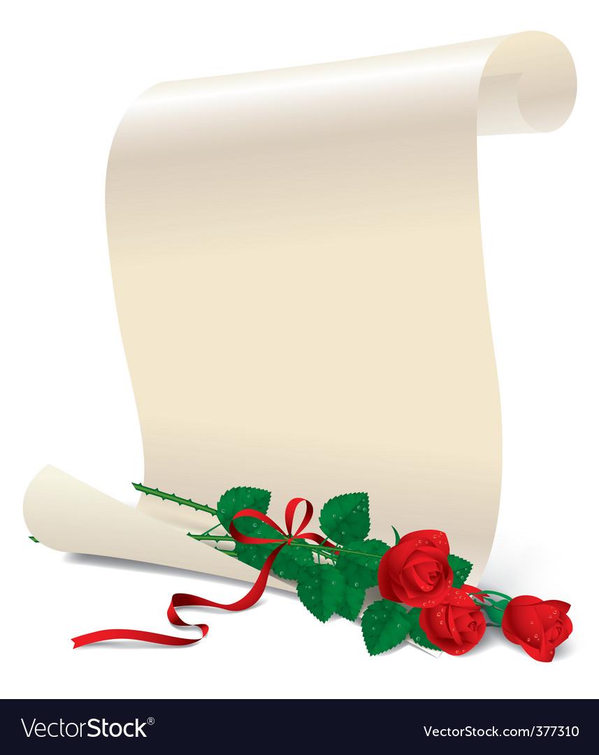 Roses design vector | Price: 3 Credit (USD $3)