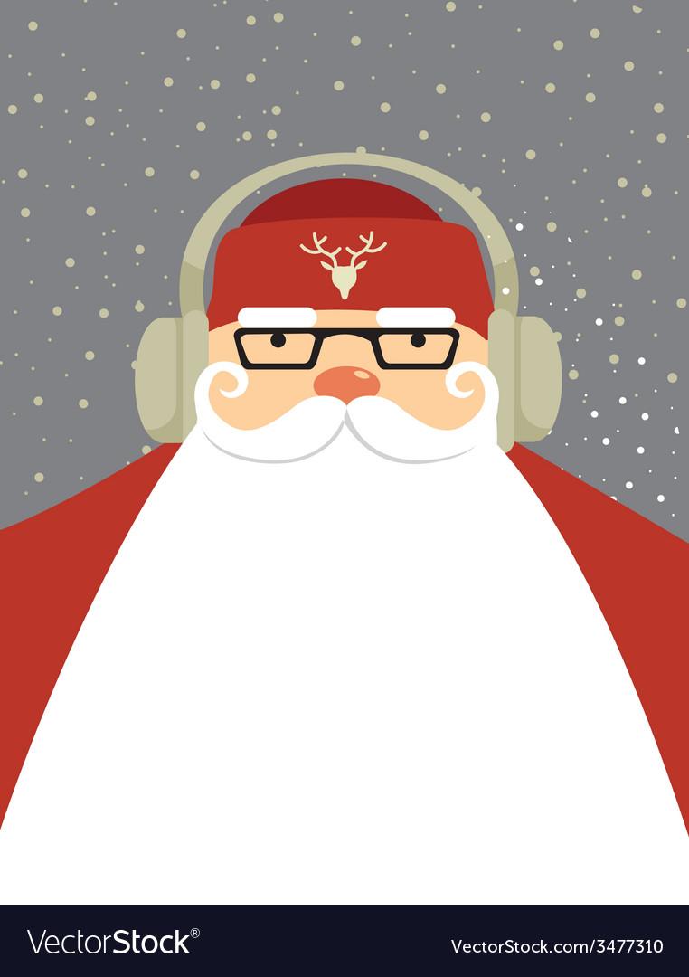 Santa dj vector | Price: 1 Credit (USD $1)