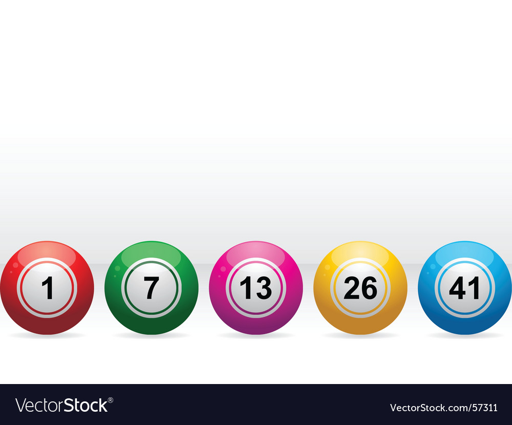 Bingo balls vector | Price: 1 Credit (USD $1)