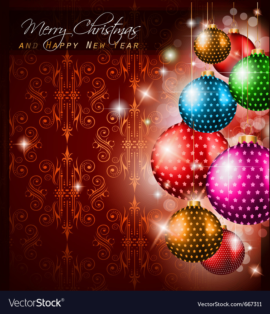 Christmas greetings vector | Price: 3 Credit (USD $3)