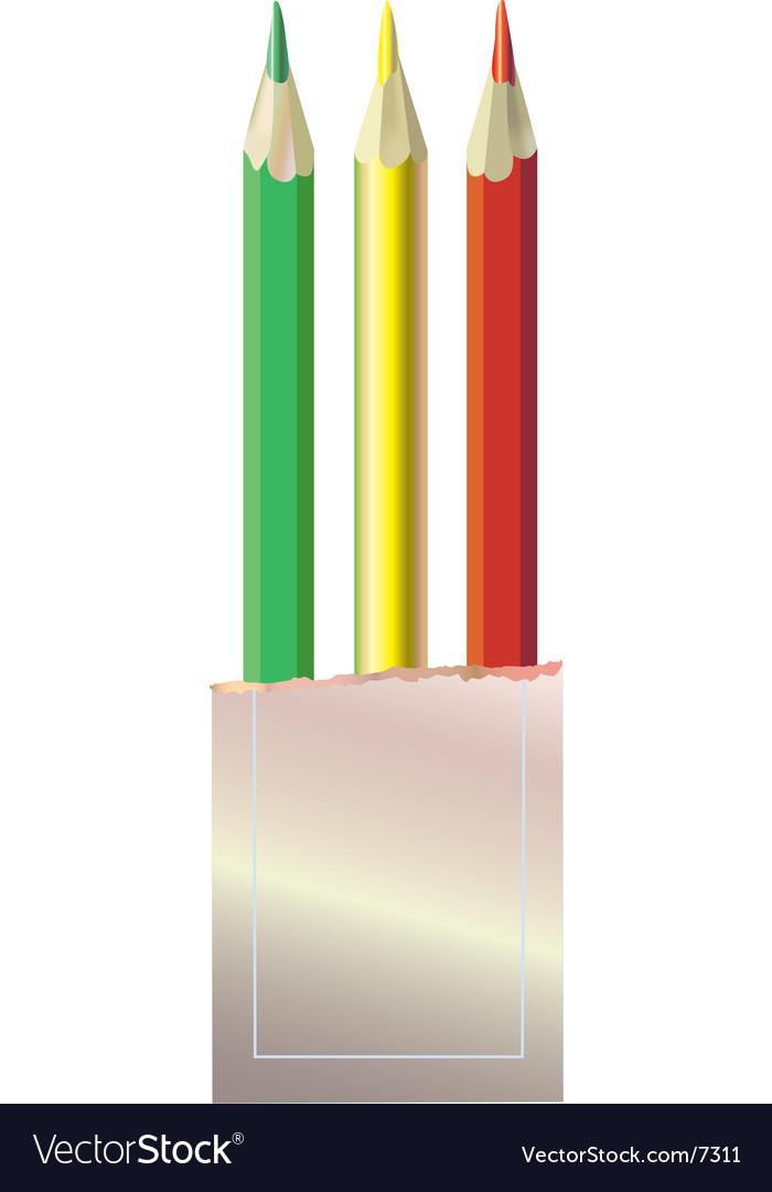 Color pencils vector   Price: 1 Credit (USD $1)