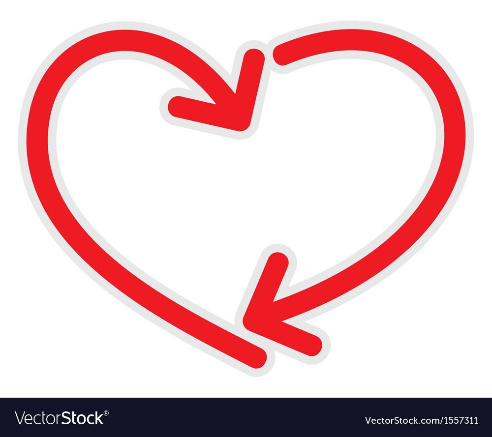 Heart line vector   Price: 1 Credit (USD $1)