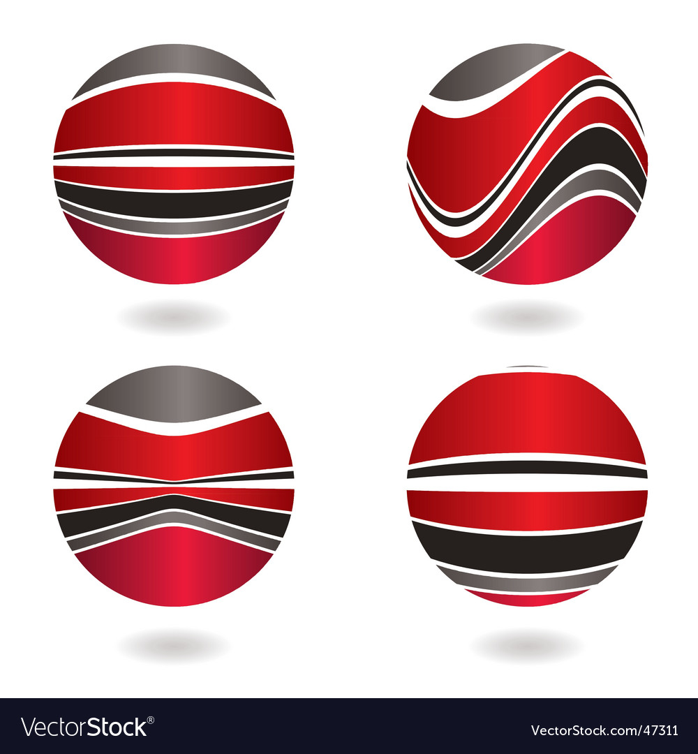 Marble swirl red vector | Price: 1 Credit (USD $1)