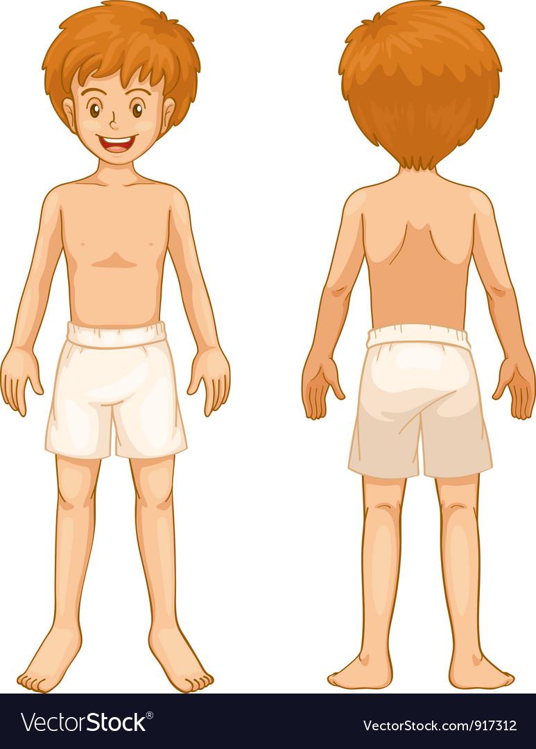 Boy body parts vector | Price: 3 Credit (USD $3)