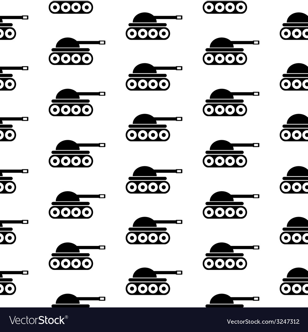 Panzer symbol seamless pattern vector | Price: 1 Credit (USD $1)