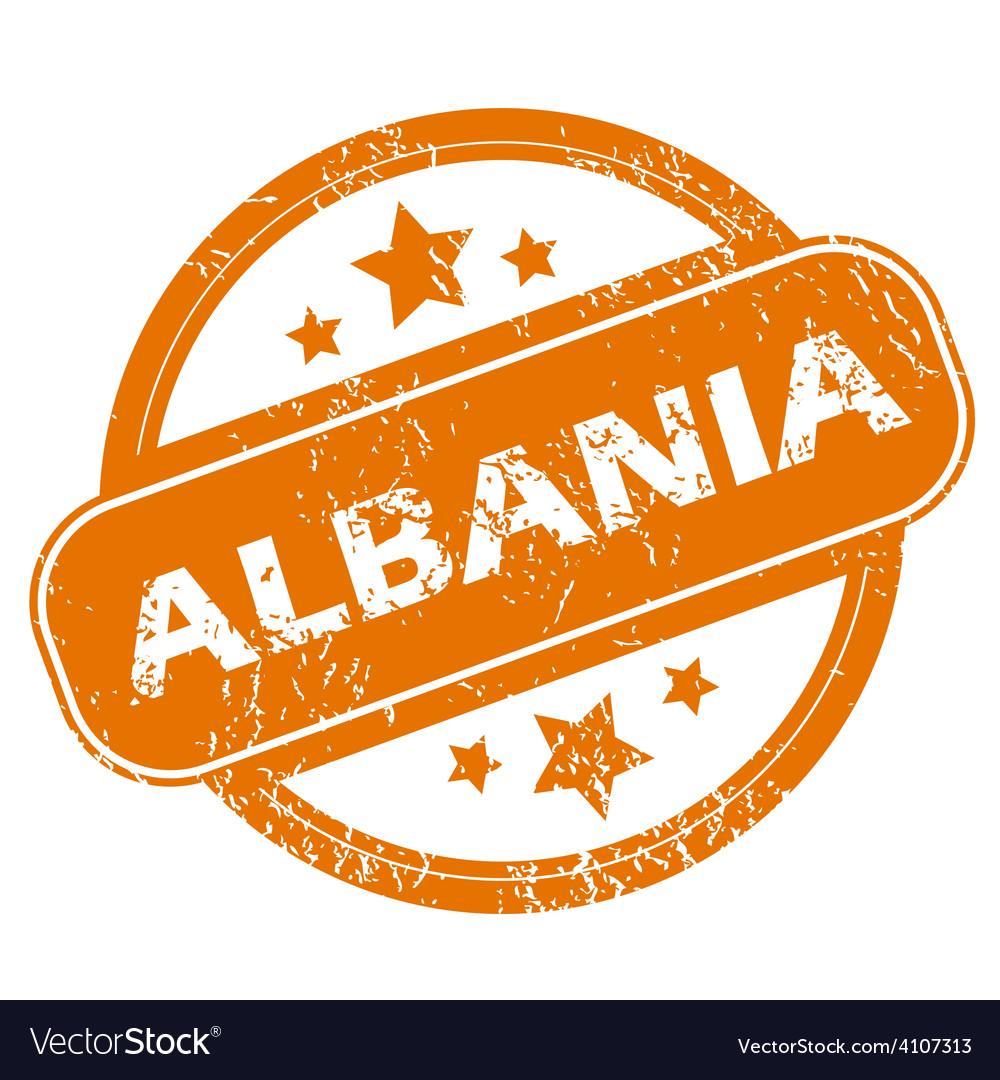 Albania grunge icon vector | Price: 1 Credit (USD $1)