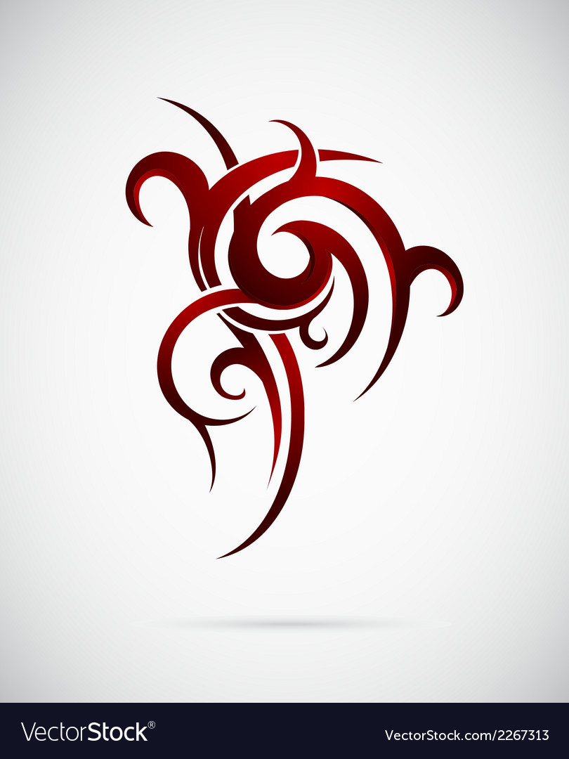 Polynesian tattoo vector | Price: 1 Credit (USD $1)