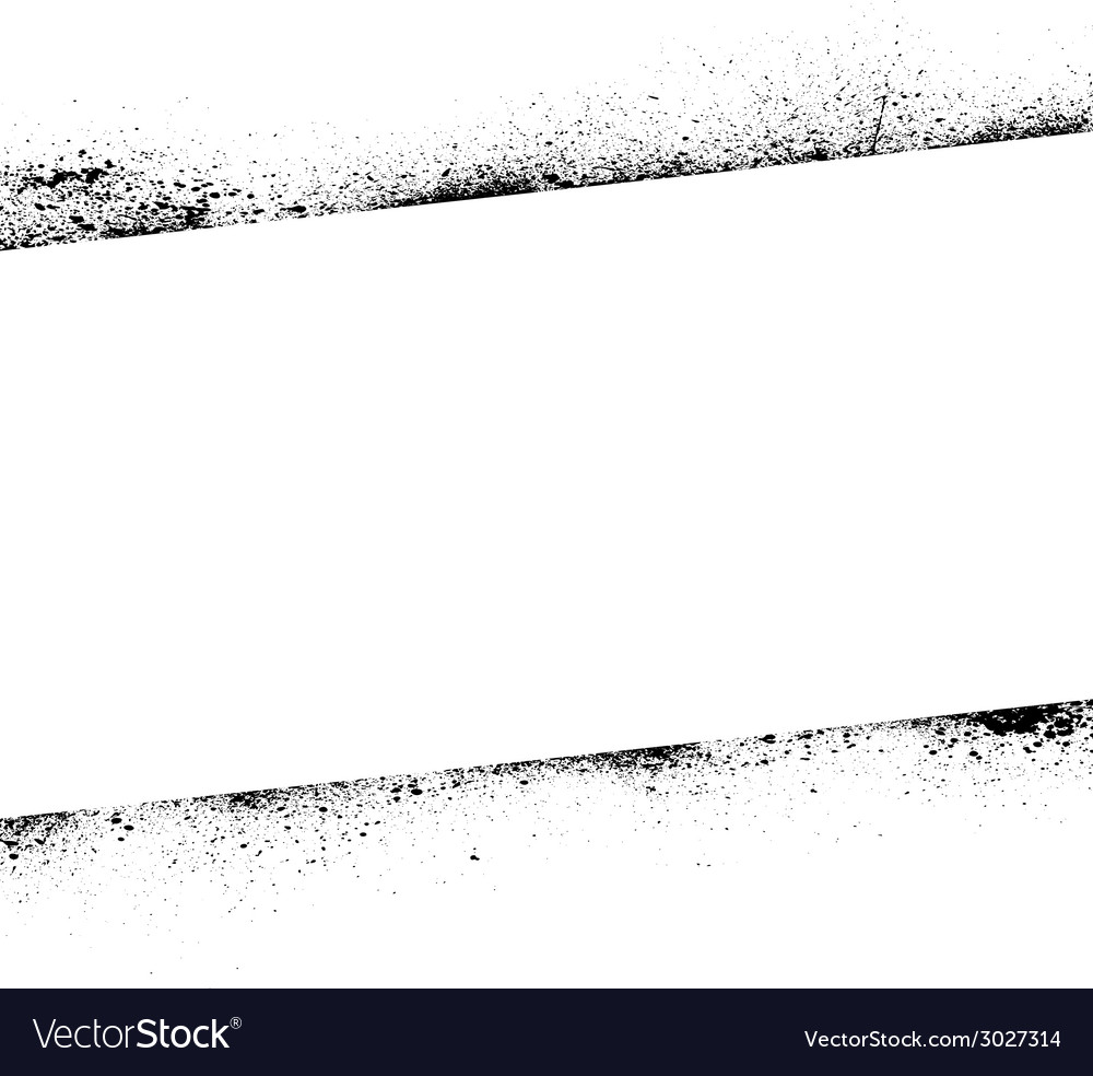 Ink blots frame banner vector | Price: 1 Credit (USD $1)