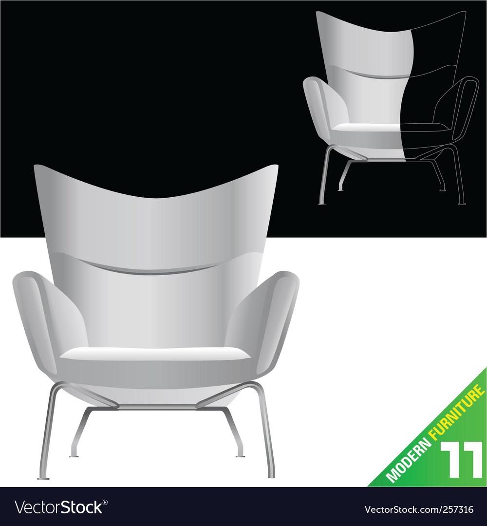 Modern furniture vector | Price: 1 Credit (USD $1)
