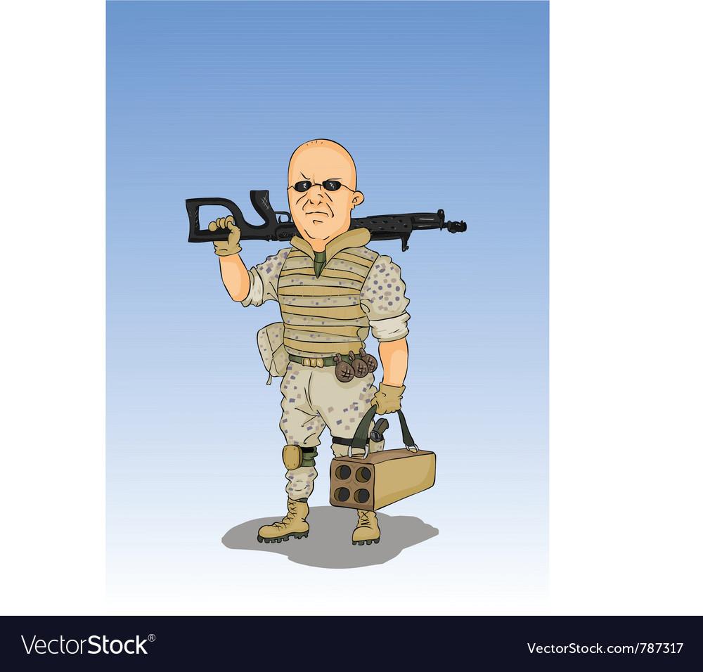 Militarist vector   Price: 3 Credit (USD $3)